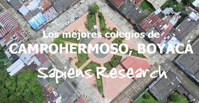 Los mejores colegios de Campohermoso, Boyacá