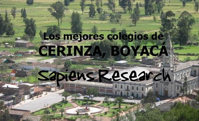 Los mejores colegios de Cerinza, Boyacá