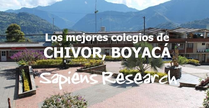 Los mejores colegios de Chivor, Boyacá