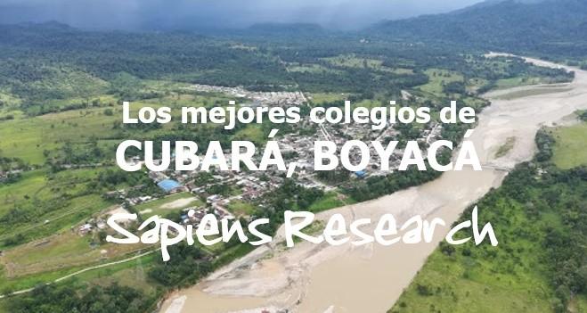 Los mejores colegios de Cubará, Boyacá