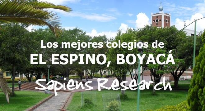 Los mejores colegios de El Espino, Boyacá