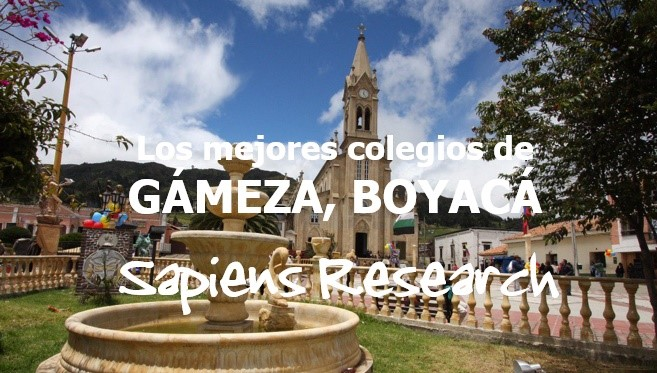 Los mejores colegios de Gámeza, Boyacá