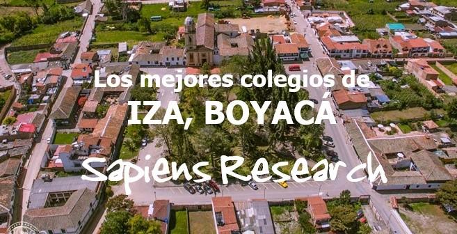 Los mejores colegios de Iza, Boyacá
