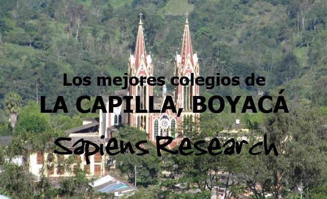 Los mejores colegios de La Capilla, Boyacá