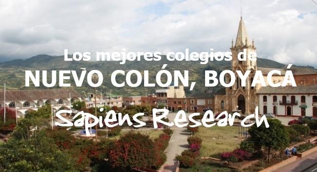 Los mejores colegios de Nuevo Colón, Boyacá