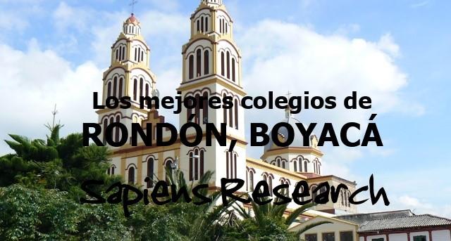 Los mejores colegios de Rondón, Boyacá