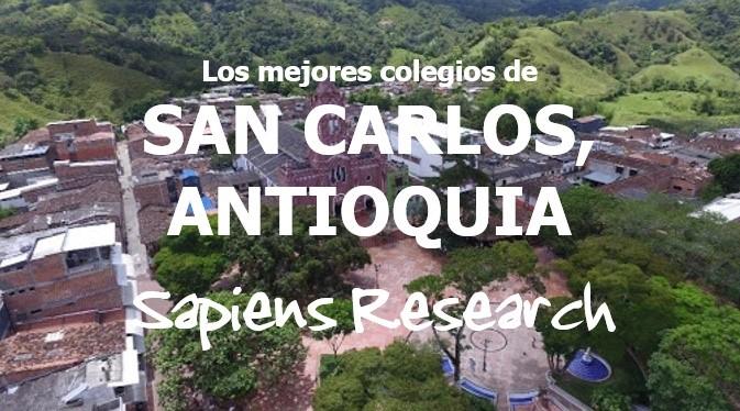 Los mejores colegios de San Carlos, Antioquia