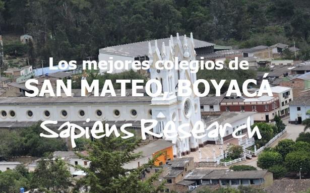 Los mejores colegios de San Mateo, Boyacá