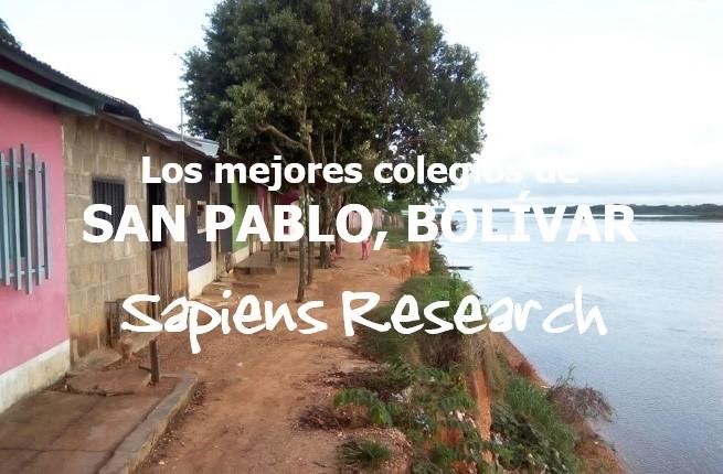 Los mejores colegios de San Pablo, Bolívar