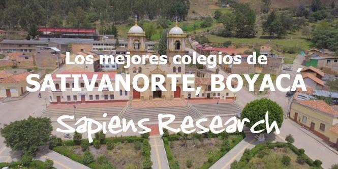 Los mejores colegios de Sativanorte, Boyacá