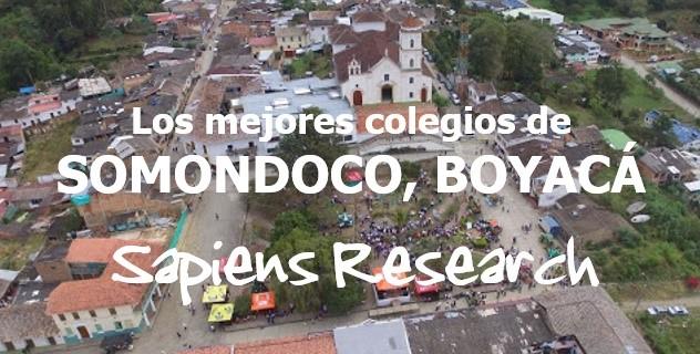 Los mejores colegios de Somondoco, Boyacá