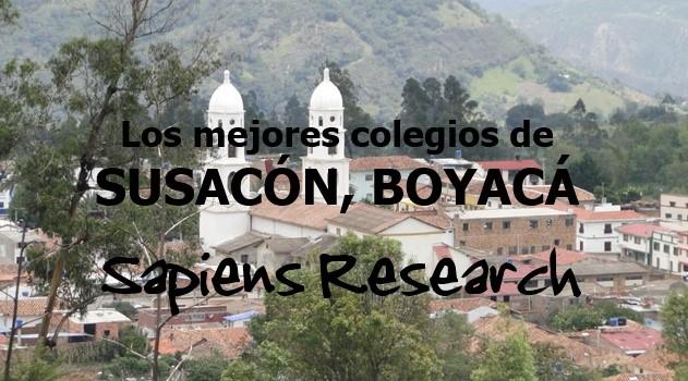 Los mejores colegios de Susacón, Boyacá