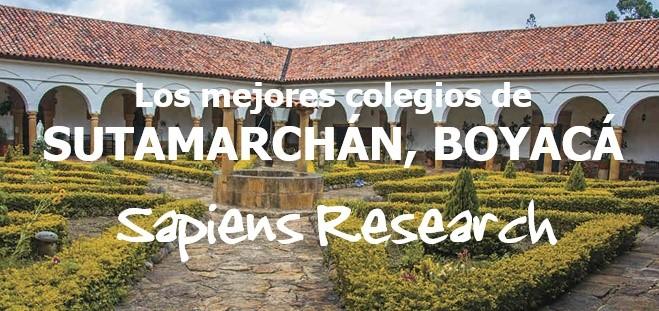 Los mejores colegios de Sutamarchán, Boyacá