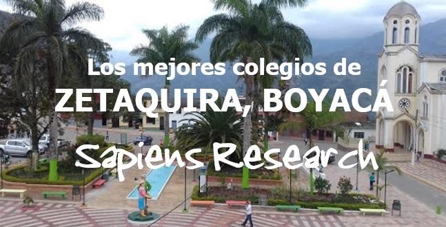 Los mejores colegios de Zetaquira, Boyacá