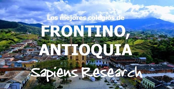 Los mejores colegios de Frontino, Antioquia