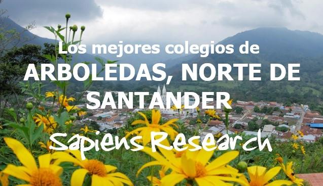 Los mejores colegios de Arboledas, Norte de Santander