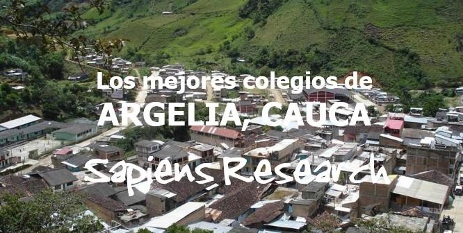 Los mejores colegios de Argelia, Cauca