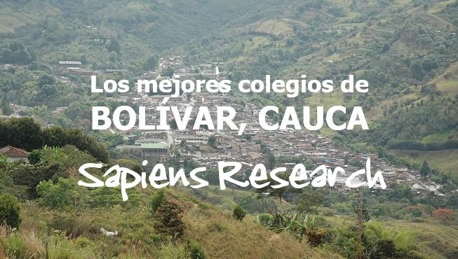Los mejores colegios de Bolívar, Cauca