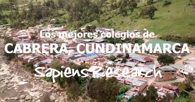 Los mejores colegios de Cabrera, Cundinamarca