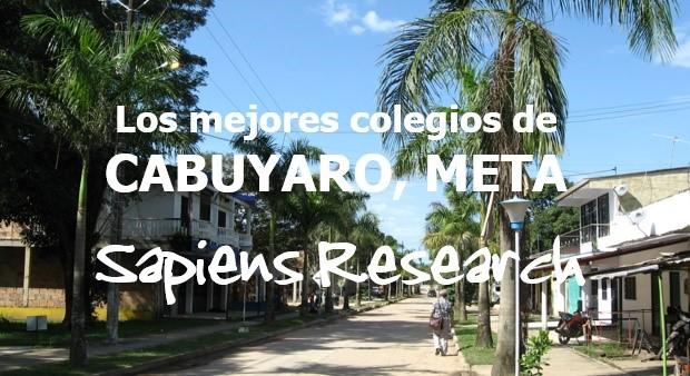Los mejores colegios de Cabuyaro, Meta