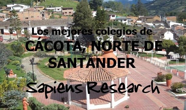 Los mejores colegios de Cácota, Norte de Santander