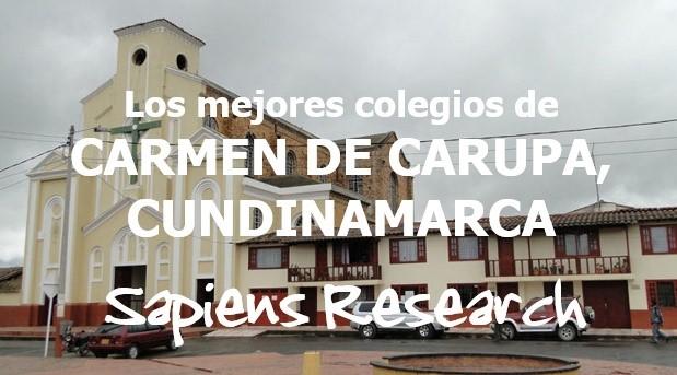 Los mejores colegios de Carmen de Carupa, Cundinamarca