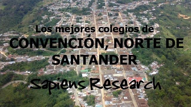 Los mejores colegios de Convención, Norte de Santander