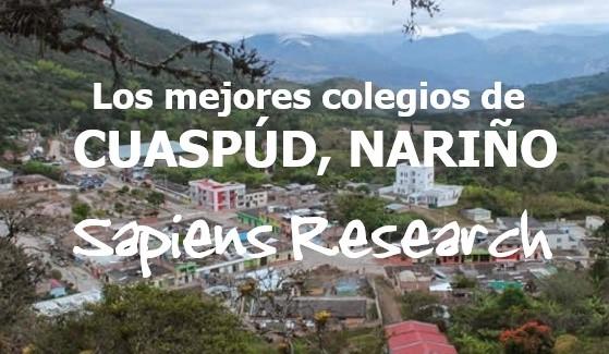Los mejores colegios de Cuaspúd, Nariño