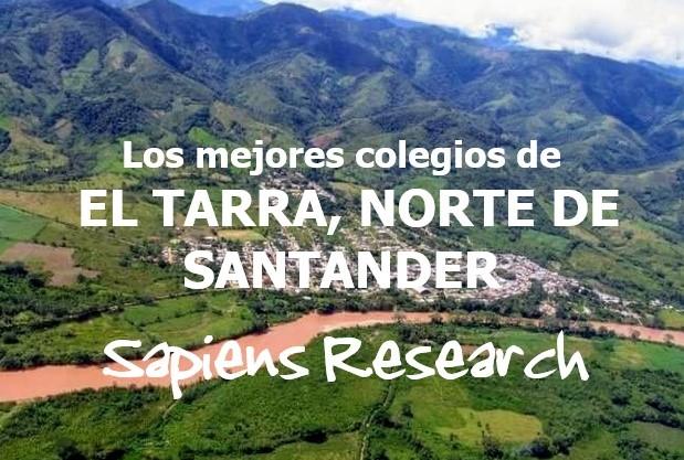 Los mejores colegios de El Tarra, Norte de Santander