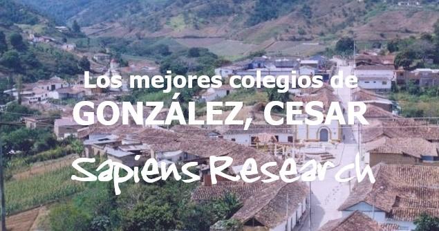 Los mejores colegios de González, Cesar