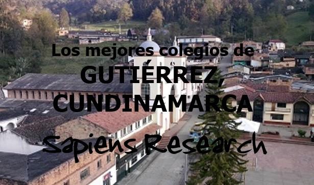 Los mejores colegios de Gutiérrez, Cundinamarca