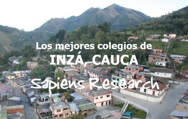 Los mejores colegios de Inzá, Cauca