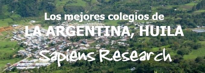 Los mejores colegios de La Argentina, Huila