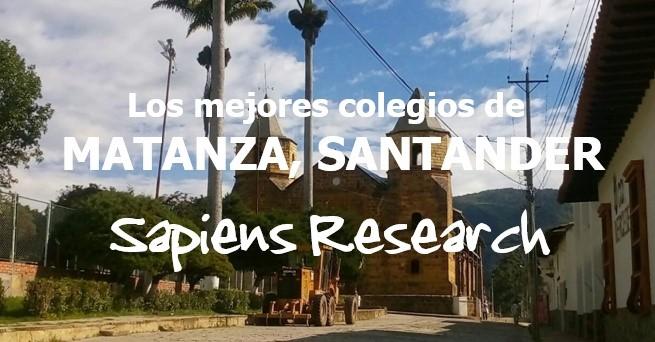 Los mejores colegios de Matanza, Santander