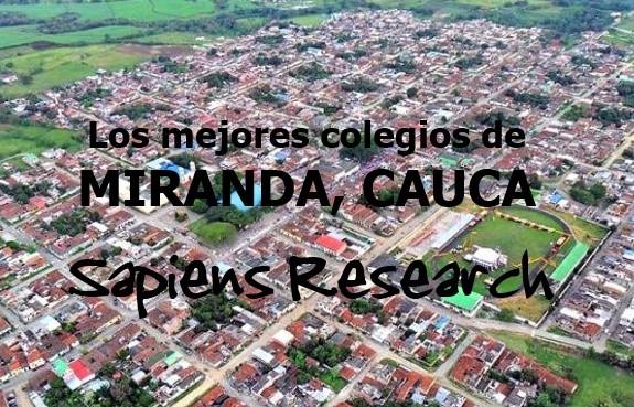 Los mejores colegios de Miranda, Cauca