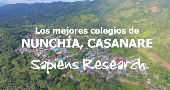 Los mejores colegios de Nunchía, Casanare