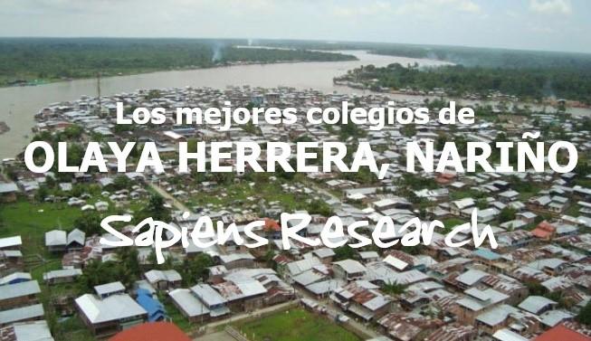 Los mejores colegios de Olaya Herrera, Nariño