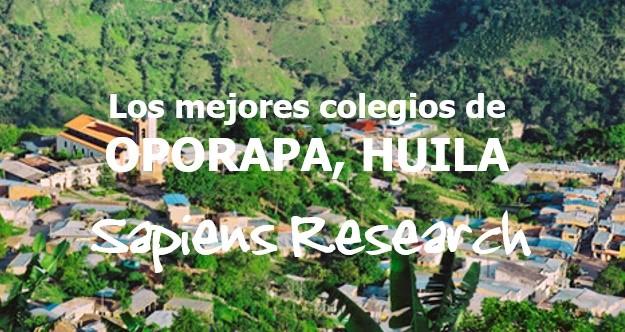 Los mejores colegios de Oporapa, Huila