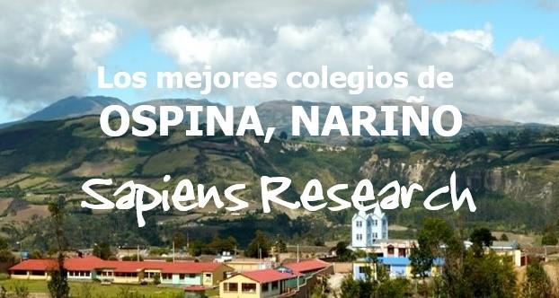 Los mejores colegios de Ospina, Nariño