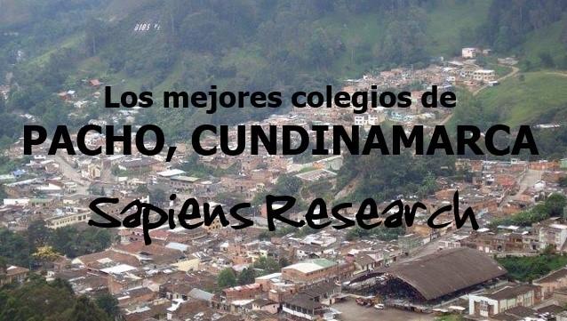 Los mejores colegios de Pacho, Cundinamarca