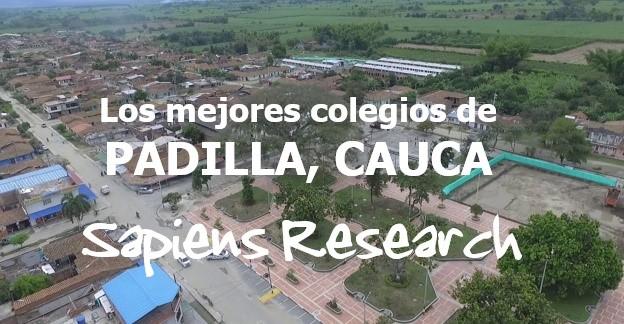Los mejores colegios de Padilla, Cauca