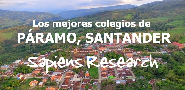 Los mejores colegios de Páramo, Santander