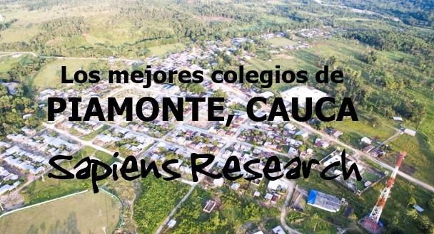 Los mejores colegios de Piamonte, Cauca
