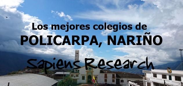 Los mejores colegios de Policarpa, Nariño