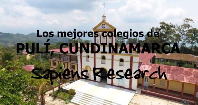 Los mejores colegios de Pulí, Cundinamarca