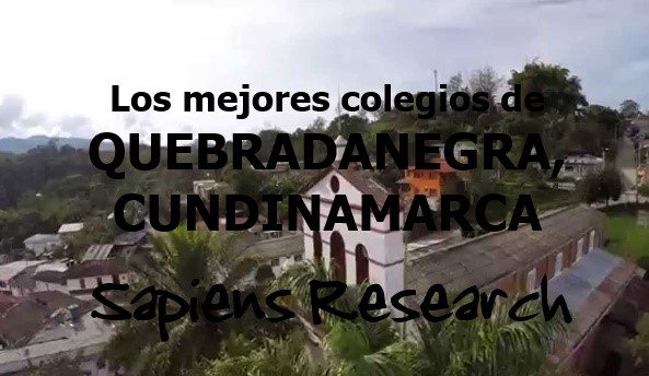 Los mejores colegios de Quebradanegra, Cundinamarca