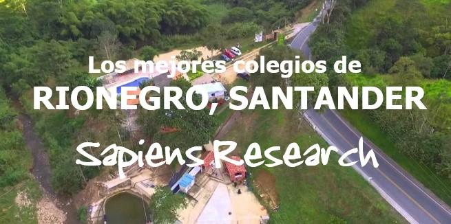 Los mejores colegios de Rionegro, Santander