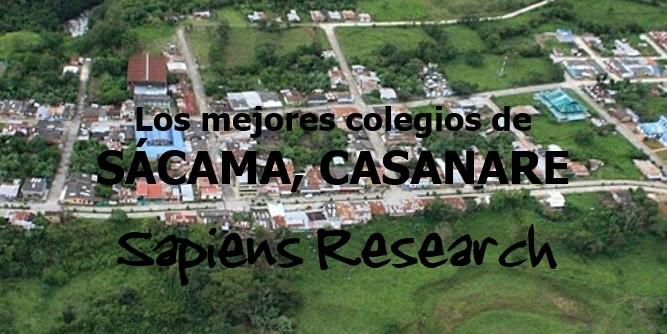 Los mejores colegios de Sácama, Casanare