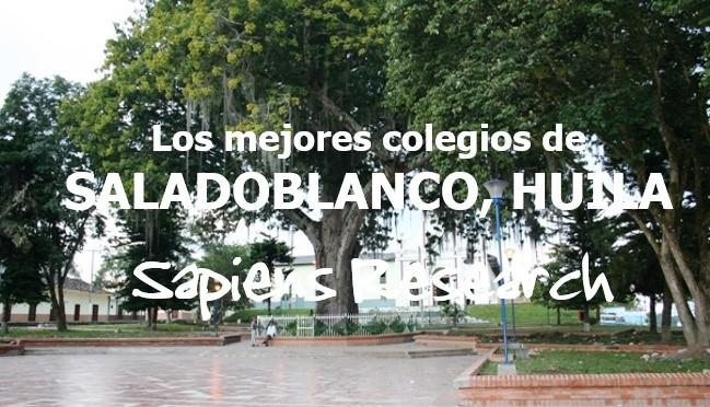 Los mejores colegios de Saladoblanco, Huila