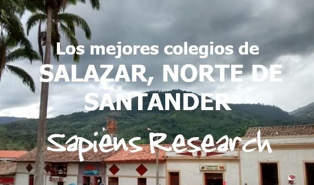 Los mejores colegios de Salazar, Norte de Santander